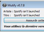Mutify Bloqueur publicités pour Spotify