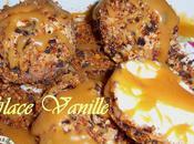 Mystère vanille coque gourmande sauce bonbon caramel