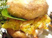 """Burger Forestier """"steak"""" Topinambour Butternut"""