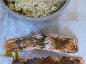 Saumon charmoula graines couscous