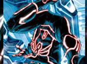 super-héros Marvel couleurs Tron