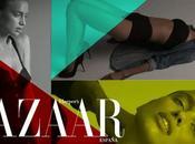 Cristiano Ronaldo petite amie Irina Shayk magnifique dans Harper's Bazaar