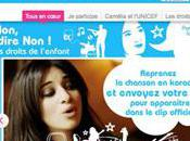 Camélia Jordana s'associe l'UNICEF pour enfants