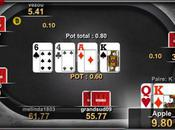 Winamax Poker iPhone poker bout doigts