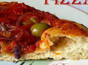 Pâte pizza maison sauce tomate poivron