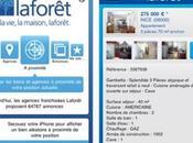 Laforêt Immobilier lance application iphone l'appstore
