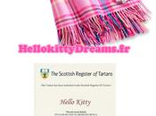 Hello kitty Tartan, retour pour