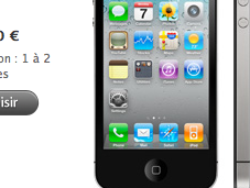 L'iPhone Blanc n'est plus référencé site d'Apple