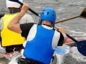 novembre, direction Gorges l'Ardèche pour marathon international canoë-kayak