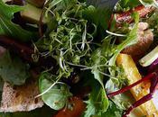 Salade carottes avocat vinaigrette d'agrumes