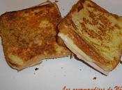 crocs croc croustillant parmesan moelleux façon pain perdu