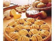 Tarte pommes airelles
