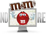 Retrouvez M&M's rouge dans Google