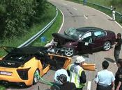 Accident mortel dans Lexus LFA.