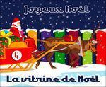 Vitrine Noël produits italiens gastronomiques Gusto d'Italia