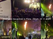 Concert AVENGED SEVENFOLD PARIS ZENITH NOVEMBRE 2010