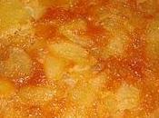 Gâteau renversé poires