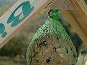 Mangeoire oiseaux récup'