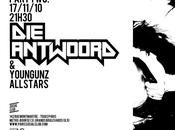 Gift week Antwoord, Cassius, Donovans, Club NME, Cameroscope