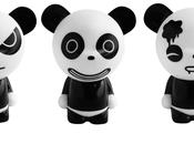 Panda, fashion grincheux