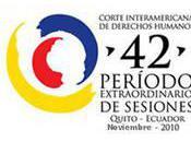 Cour Interaméricaine Droits l'Homme: 42ème session ouverte