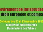 revirement jurisprudence droit européen comparé (Colloque, CEE-Univ. Lyon 22-23 novembre 2010, Université Jean Moulin