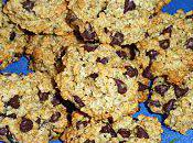 Cookies vanillés flocons d'avoine pépites chocolat