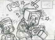 page extrait crayonné