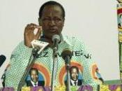 Elections Burkina voix pour Blaise Compaoré