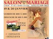 Week-end prochain rendez-vous Salon mariage Savigny Orge (91)