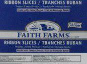 Alerte alimentaire Extension Fromages Faith Farms Saputo Canada