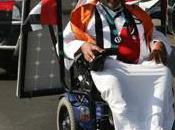 Haidar Taleb vient traverser désert fauteuil roulant