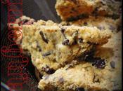 Petits Biscuits Sablés Moelleux Cranberries, Raisins Secs Pépites Chocolat Noir