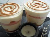 Verrine vanille clémentine caramel beurre salé