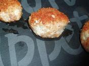 Croquettes poulet pancetta coeur mozzarella