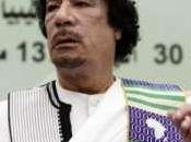Mouammar Kadhafi Dakar pour assister festival mondial arts nègres