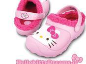 Nouvelles Crocs Hello kitty Lined Custom Clog