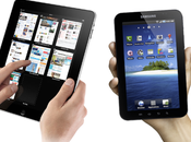 Samsung Galaxy Apple iPad