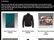 emailing signé Paul Smith pour dernier cadeau avant Noël