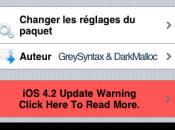 Fake Operator: Personnaliser l'opérateur iOS4