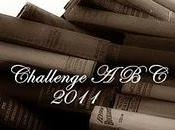 Challenge livres auteurs 2011 (ABC)