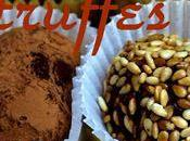 Truffes cacao sésame cocoa sesame truffles