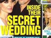 Brad Pitt Angelina Jolie sont mariés secret
