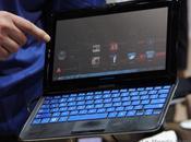 2011 Samsung aussi présente tablette tactile avec clavier coulissant, Sliding