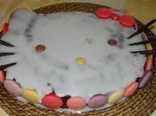 gâteau Hello Kitty puce