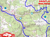 Rallye Monte-Carlo passe Saint-Bonnet-le-Froid