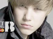 Justin Bieber Nominé Brits Awards 2011