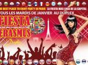 FIESTA ERASMUS Soirée étudiante Duplex Paris