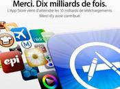 Store milliards d'application