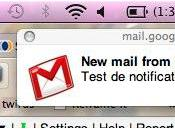 Gmail Chrome notifications mails messages tchat